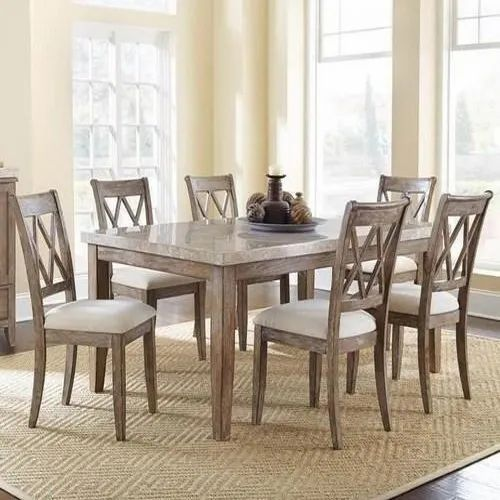 Height Modern Marble Top Dining Table Rs 60000 Set Perfect Interior Decorator Id 20140380691