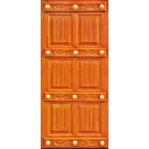 Standard Teak Wood Doors - Designer Wooden Door Manufacturer from