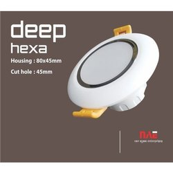 Deep Hexa LED Downlight Housing