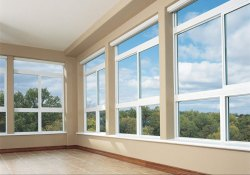 Sliding Lead Free UPVC Designer Glass Window