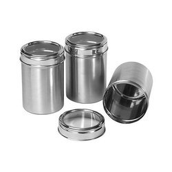 Stainless Steel Food Storage Canister
