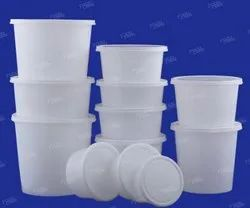 Polypropylene Circular Food Parcel Containers, Packaging Size: 500 ml, Packaging Type: Packet