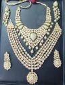 Wedding Wear Kundan Necklace Set