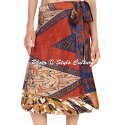 Hawaiian Women Short Boho Beach Wrap Skirt