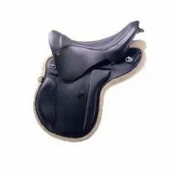 Black Jumping Horse Saddle