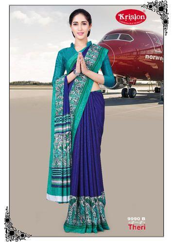 1a84d74e4b1636 Uniform Sarees - Printed Uniform Sarees Manufacturer from Coimbatore