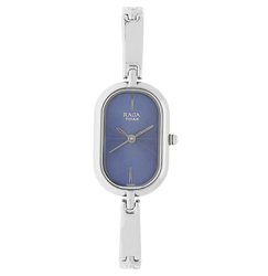 Blue Dial Stainless Steel Strap Watch 2577SM01