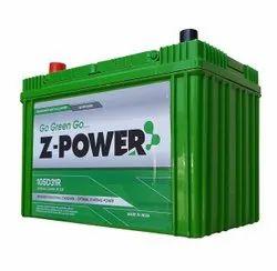 Z-Power SMF Automotive Battery, Voltage: 12 V