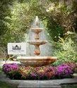 Modern Sandstone Garden Fountain