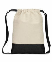 Fabric Drawstring Backpack
