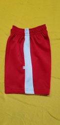 School Uniform Red and White Short