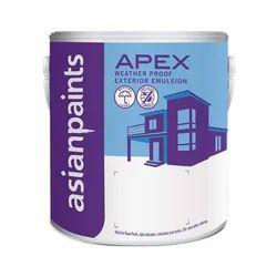 Asian Paints Apex Weather Proof Exterior Emulsion Paint, Packaging Type: Drum
