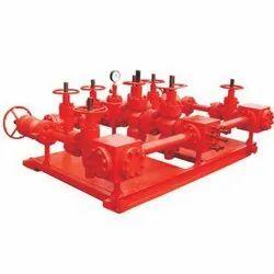 Steel Choke Manifold, Capacity: 300-400 Lpd