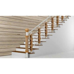 Residential Steel Staircase Railings