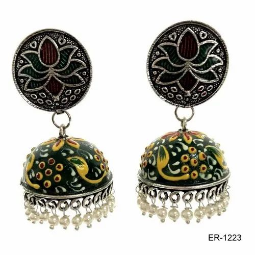 Hand Painted Earring