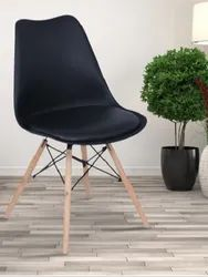 Fort Black Wooden Cafe Chair