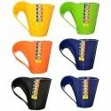 Vivo Plastic Multipurpose Tea Coffee Mugs-Set of 6