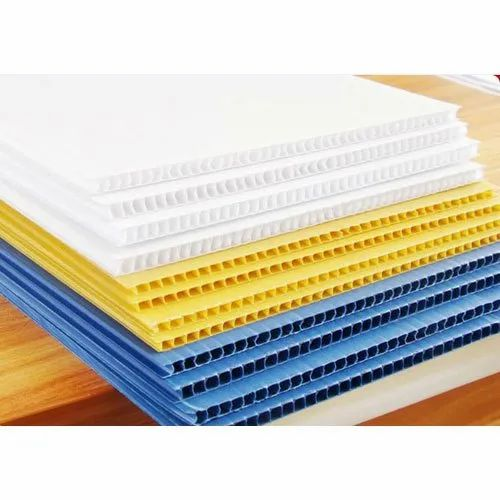 Universal Polyplast Polypropylene Fluted Sheet, Dimension/Size: 1000 To 2440mm, Thickness: 15mm to 25mm