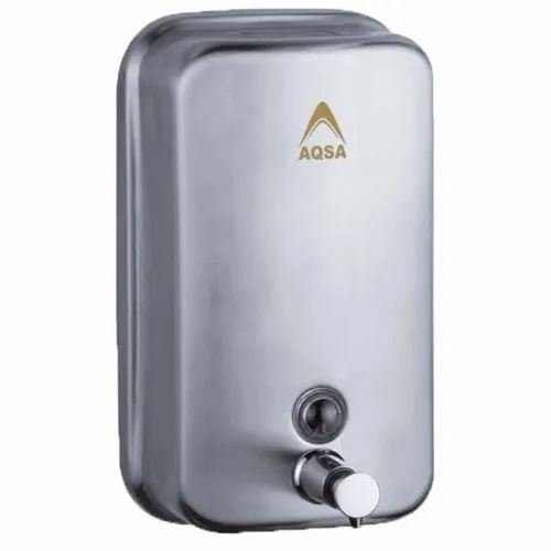 GClean Metal Stainless Steel Liquid Soap Dispenser, Finish Type: Polished