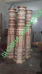 Antique Design Wedding Pillar