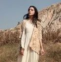 Rayon Jacket With Yellow Maxi Dress