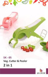 Welldecor 2 In 1 Veg Cutter