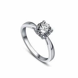 Girls Silver Ring