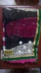 Silk Bridal Wear Traditional Indian Saree