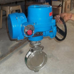 Motorized Triple Offset Butterfly Valves