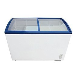 Blue Star Glass Top Ice Cream Freezers