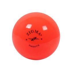 Zigma Orange and F.Yellow Hockey Balls (SMOOTH) (HOLLOW) (MATCH), Size: 73.5 MM