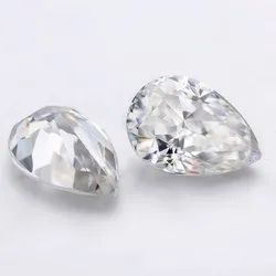 Pear Shape 1 Carat Fg Color Vs1 Clarity Aaa  Lab Grown CVD Type 2a Diamond