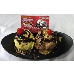 Butter Scotch Chocolate Scoop Ice Cream, for Marriage and Party
