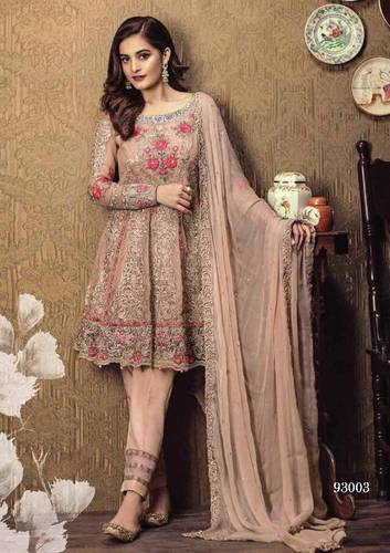 a64ff2aacc Semi-Stitched Net And Georgette Pakistani Suits, Rs 1295 /piece | ID ...