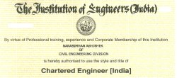 Civil Engineering Projects Chartered Engineer Services, Mumbai
