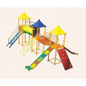 Green Playground Multiplay Station