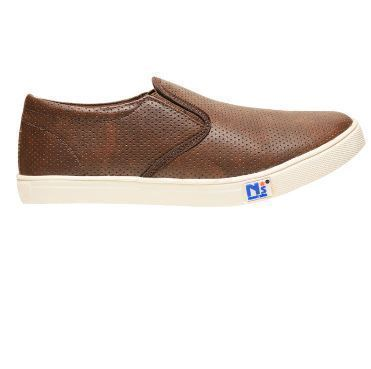 bata North Star Brown Casual Shoes For