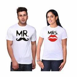 Couple White T Shirts