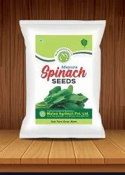 Hybrid Green Spinach Seeds(Palak seeds), Packaging Size: 1kg, Packaging Type: 1 Kg Packet