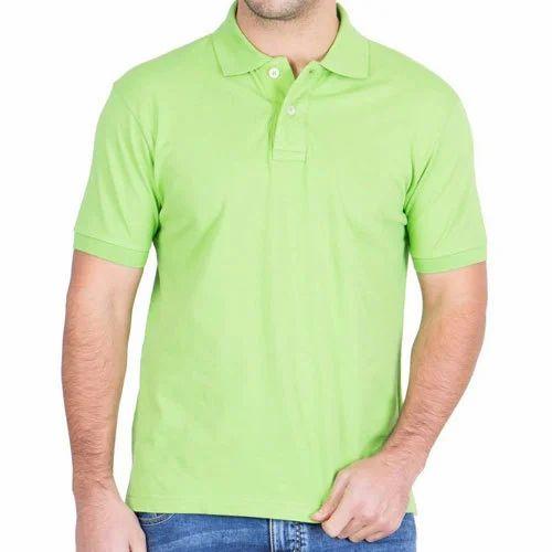 28057076b721 Green Men's Polo Neck T-Shirt, Rs 500 /piece, Nandri Exports   ID ...
