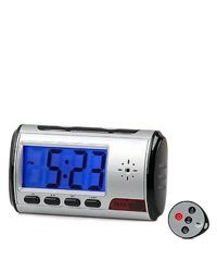 Spy Recording Digital Table Clock