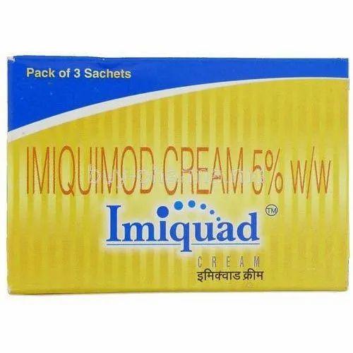 IMIQUIMOD CREAM 5%