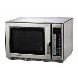 Stainless Steel Rectangular Menumaster Commercial Microwave
