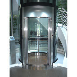 Panoramic Passenger Circular Glass Elevator