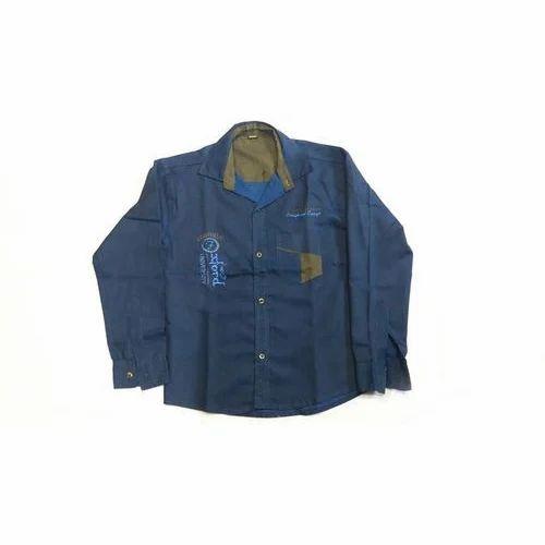 5403529cbfd7 Cotton Cozy Casual Boys Designer Shirt, Rs 185 /piece, Shri Osiyan ...