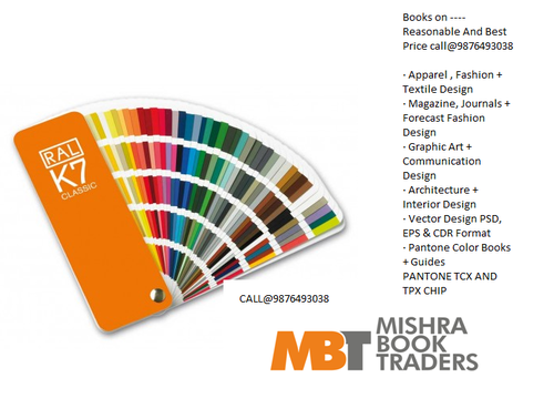 Ral Shade Card at Rs 2000 /piece | color chart, colour catalogue ...