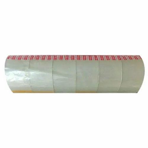 BOPP Transparent Self Adhesive Tapes, Packaging Type: Box