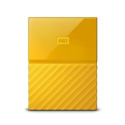 WD My Passport 2TB Portable External Hard Drive (Yellow)