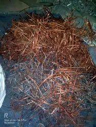 Golden Copper Rods Scrap