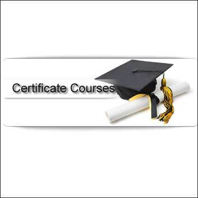 Certificate Courses, Certificate Courses - National Insitute Of ...
